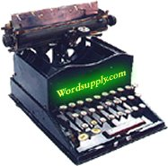 Wordsupply Typewriter